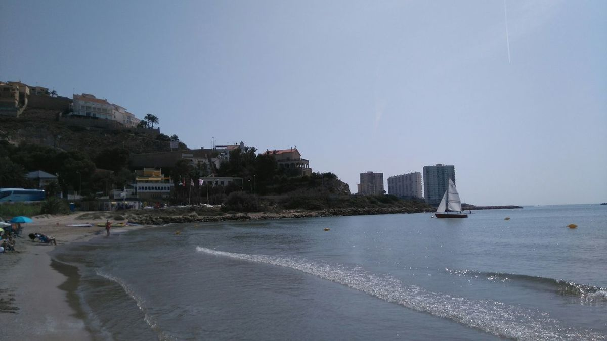 Holiday POV Sea Sunshine Relaxing Enjoying Life