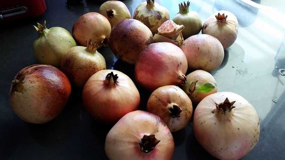 EyeEm Selects Food Healthy Eating Fruit No People Freshness Pomegranate Pomegranates  Close-up