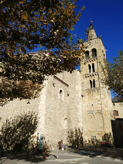 Religion History Outdoors Architecture Day Sky Esglesia Prades Prada De Conflent Catalunya Nord Pau Casals