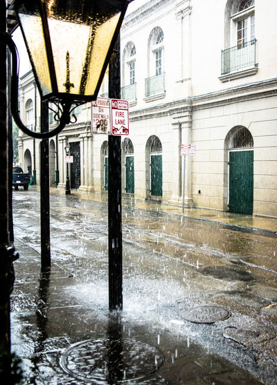 It was very humid In New Orleans New Orleans New Orleans, LA Rain Rainy Days Raindrops Rainy Day