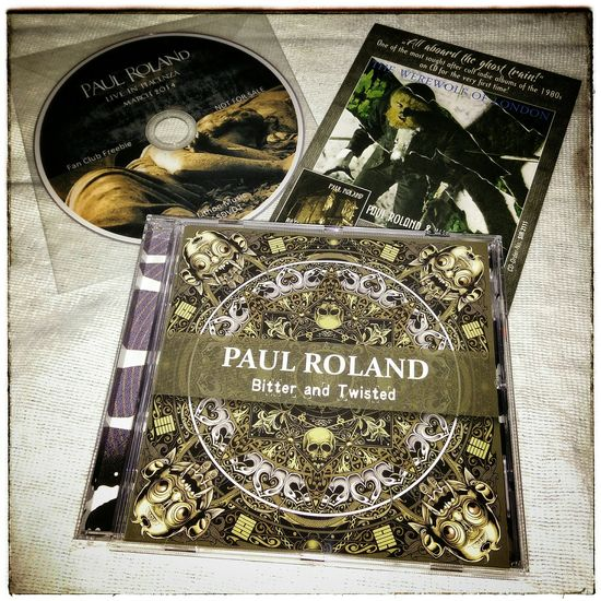 Paul Roland new Album . Cd Bitter And Twisted For The Love Of Music