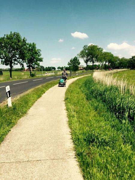 Spring Bicycle Radtour Papa Und Sohn Country Landliebe #Ostfriesland Northern Life