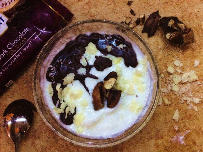 Yogurt Handmade By Me Yogurt♡♡♡♡♡ Yogurtland Chocolate