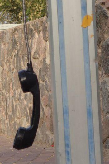 Street Photography Close-up Communication No Communication Telephone Abandoned