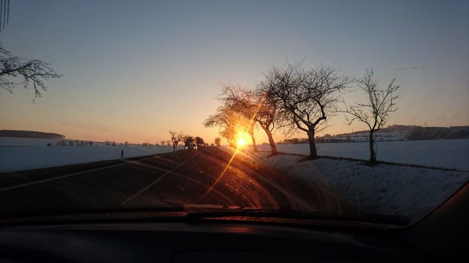 Car Transportation Travel Car Interior Windshield Sunset The Way Forward Mode Of Transport Journey Vehicle Interior On The Move Driving Land Vehicle Road Tree Car Roof Sky Vacations No People Water XPERIA First Eyeem Photo Xperiaphotography XperiaZ5