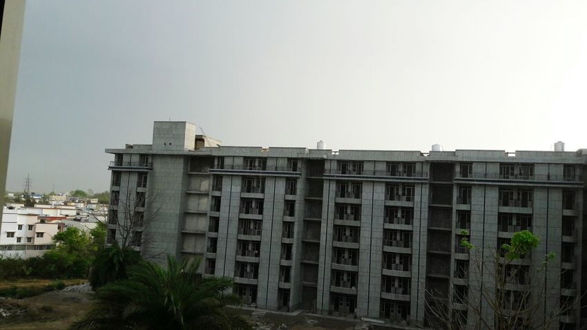 Backyardphotography Cooling It Outdoors Clouds & Sky Buildings Architecture Hostel View Aiims Bhopal