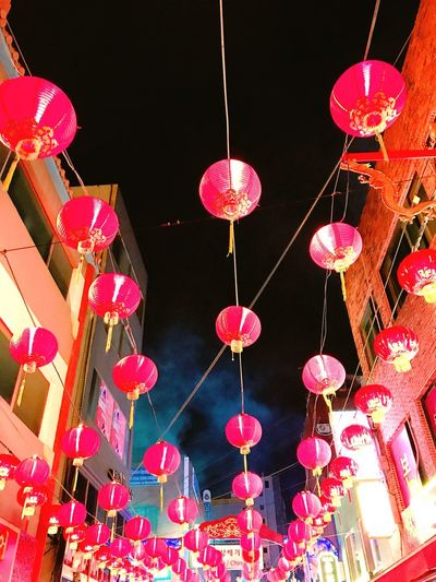 Chinese Lantern Chinesetown Busanstation Redlights No People 赤い灯 釜山駅前 中国村 釜山 釜山日和 帰り道 御祭り