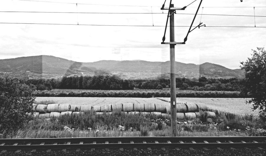 Black And White Landscape Irgendwo Im Nirgendwo .