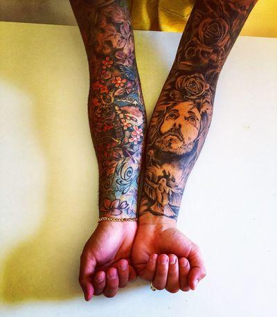 My Tattoo My Life Lovetattoos Tattooboy Tattooartist  Tattoomodels #alternative One Person Human Body Part Body Part Low Section Women Tattoo Henna Tattoo Real People Adult Human Foot First Eyeem Photo