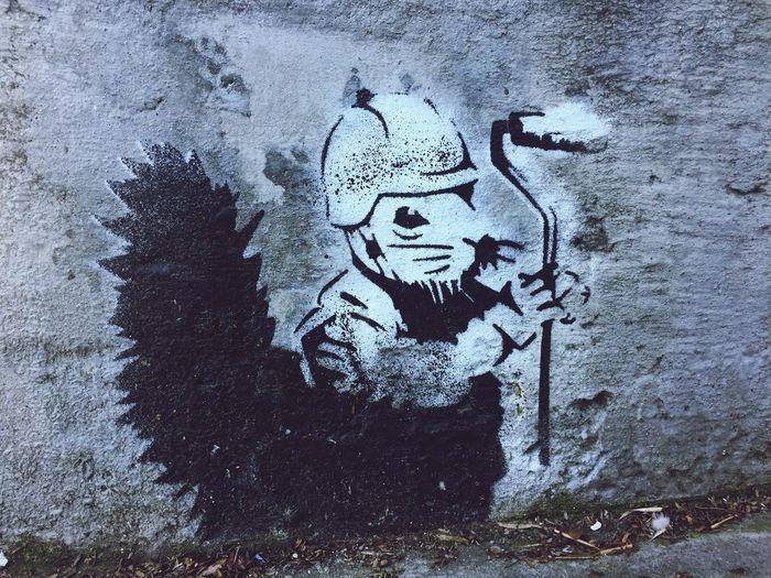 Streetart Street Art Street Art/Graffiti Stencil