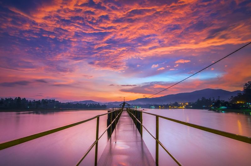 I love sunset ❤️ Sunset Beauty In Nature Horizon Over Water Sea Bridge - Man Made Structure Sky Water Outdoors Scenics Reflection Cloud - Sky Hanging Nature Night Bestskyshot sunset sun clouds skylovers sky nature beautifulinnature naturalbeauty photography landscape Sunset_collection Landscape_photography Landscape_captures Sunset Lovers Sunset_captures Sunsetlovers Sunsetphotographs Sky_collection Bestskyshots Bestskylineintheworld Be. Ready. EyeEmNewHere