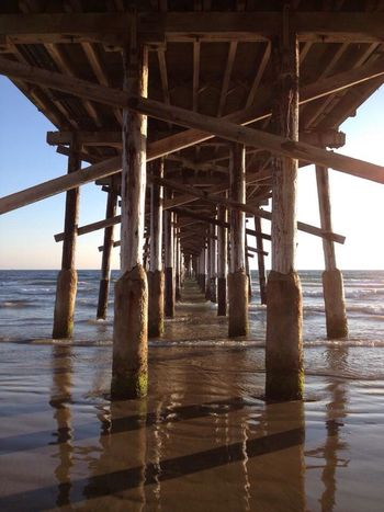 Enjoying Life TheEYEEmfacebookcoverchallenge Vanishing Point Eyemnaturelover Sea Pier Ocean Beach Life