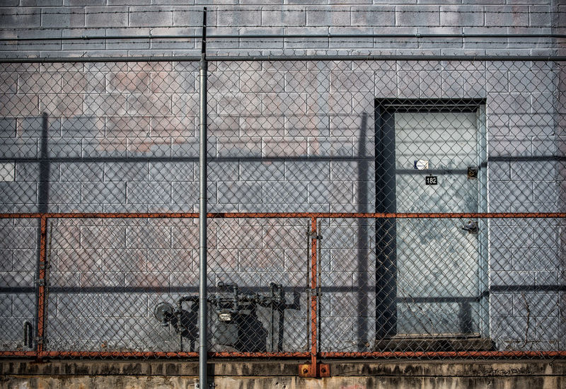 Architecture Barbed Wire Building Exterior City Close-up Commercial Day Electrical Equipment Equipment Fence Light And Shadow Metal Meter Nikon D750 No People Outdoors Photographyisthemuse Protection Street Urban Utility Room