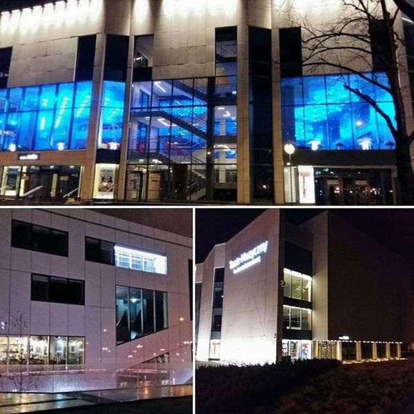 Gdynia by Night Hometownlove  Night Theatre Instamoment