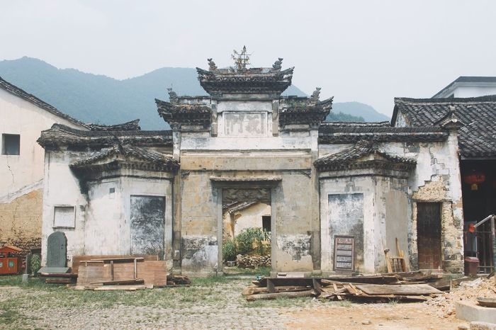 Traveling In China Historical Building Architecture_collection Architecture Door Hanging Out