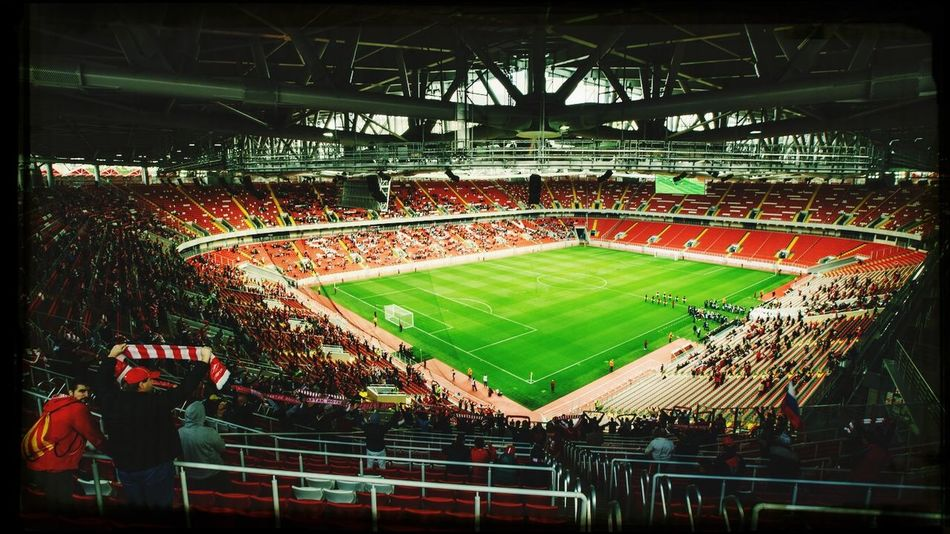 Spartak Otkritie Arena Stadium Football Spartak Moscow Спартак