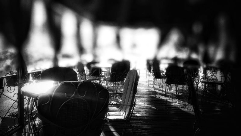 No People Outdoors Caffè Terasse Full Frame Backgrounds Photography Themes Black And White Collection  Blackandwhitephotography EyeEm Black&white EyeEm Gallery EyeEm Best Shots From My Point Of View The Week On EyeEm Check This Out Week On Eyeem Eyeemphotography Fine Art Photography Searching For Inspiration Lost In The Landscape Day