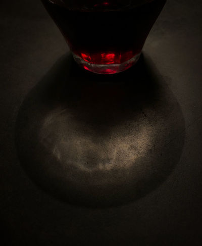 glow Drink Food And Drink Glass Alcohol Indoors  No People Wine Still Life Drinking Glass Red Wine