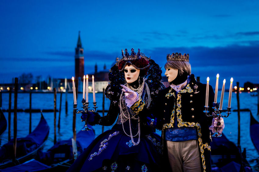 The Carnival of Venice Night Photography Nightphotography Travel Photography Traveling Adult Arts Culture And Entertainment Dusk Fashion Illuminated Lifestyles Night Nightlife Outdoors People Portrait Real People Sky Togetherness Travel Destinations Two People Venetian Mask Young Women