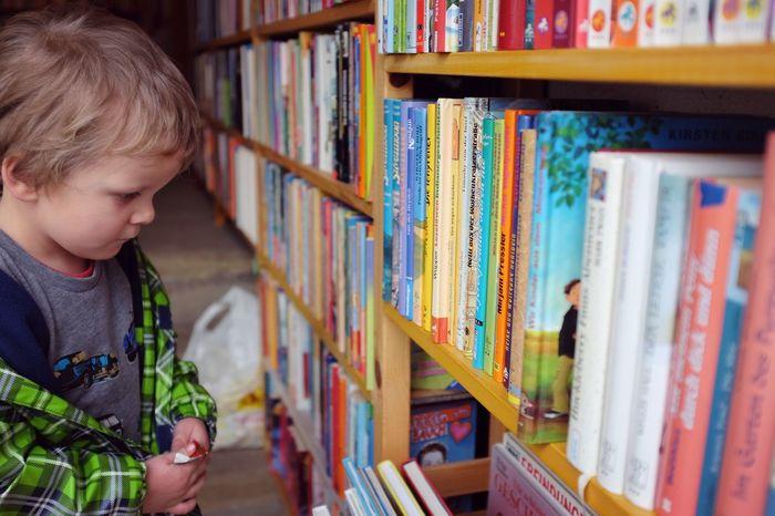 Children Bookstore BookLovers Books Child Boy Preschooler