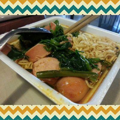 Măm măm. Bưa chiều. =))) ăn level lợn rồi. Noodles Vegetables Vietnamesefood