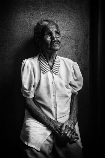 Lola Ortagon Front View Standing One Person Three Quarter Length Indoors  Real People Casual Clothing Portrait Lifestyles Looking At Camera Adult Wall - Building Feature Senior Adult Women Leisure Activity Looking Clothing Waist Up Hairstyle International Women's Day 2019
