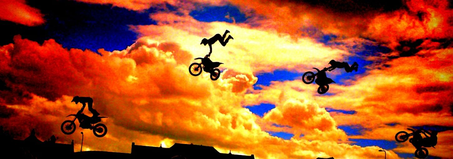 Freestyle Motocross PROnationals 2014 Sunny Cloud And Sky