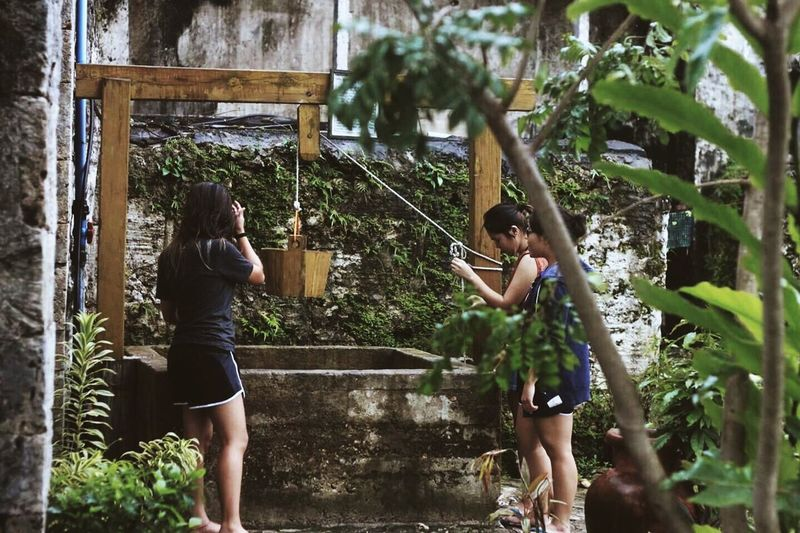 Wishing Friendship Outdoors Wishing Well Bohol Philippines BACLAYON