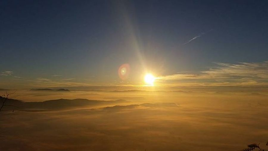 Smarnagora Sunrise Mountain View Above The Clouds
