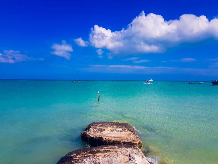 Holbox Holbox The Paradise Holbox Island UnderSea Water Sea Beach Blue Beauty Scuba Diving Horizon Sand Tropical Climate