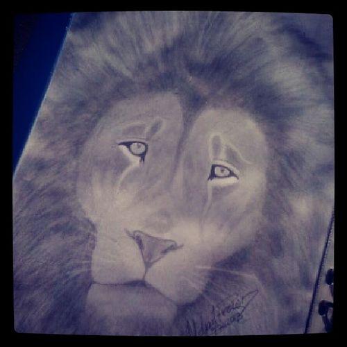 Lion Sketch Sketchbybrown