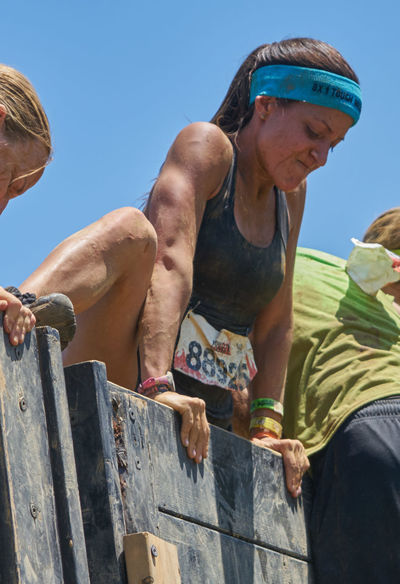 Climb Day Excercise Obstacle Course Photography Road Scramble Tough Mudder