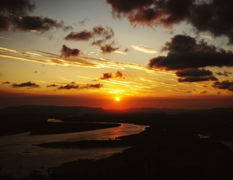 Sunset Sunset_collection Sunsets Sunsetporn Outdoor Photography Traveling Travel Photography River View in Cooktown Australia