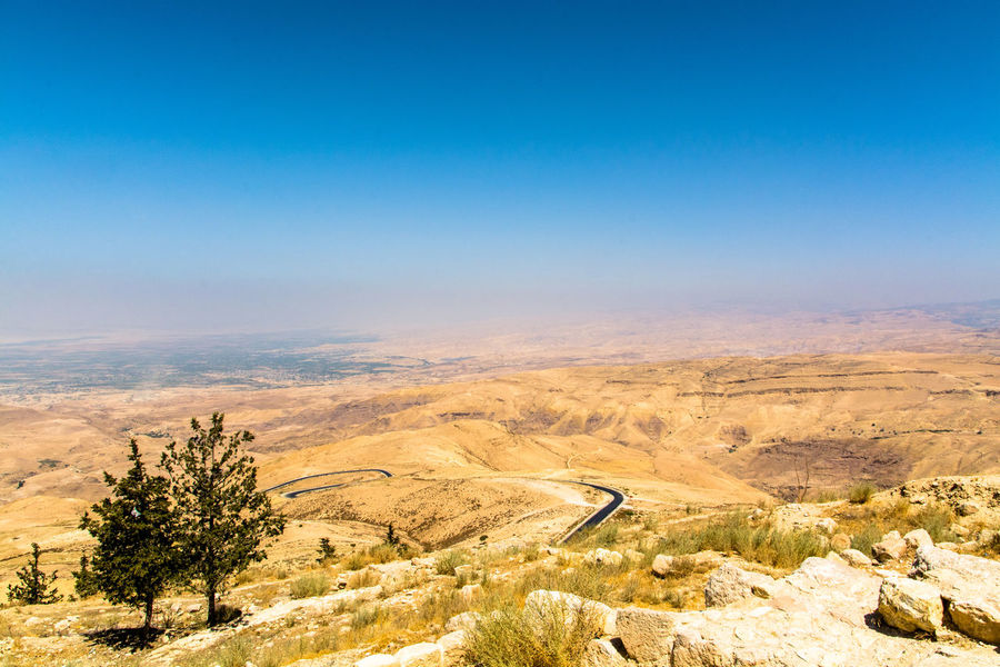 Promised Land Jordan Cultural Heritage Landscape_photography Travel Photography Roadtrip Middle East Blue Sky Mount Nebo Landscapes With WhiteWall