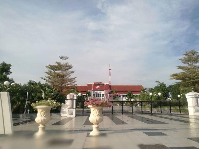 City Hall Of Surabaya Sky Outdoors Day