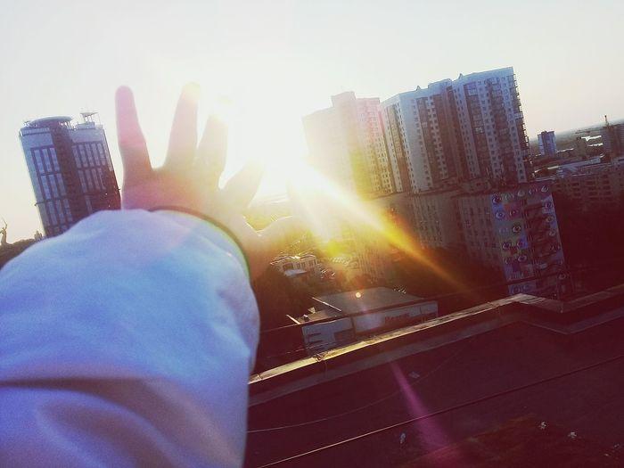 Like Sky Day Summer Sky Sun Sun Up City Morning Friends