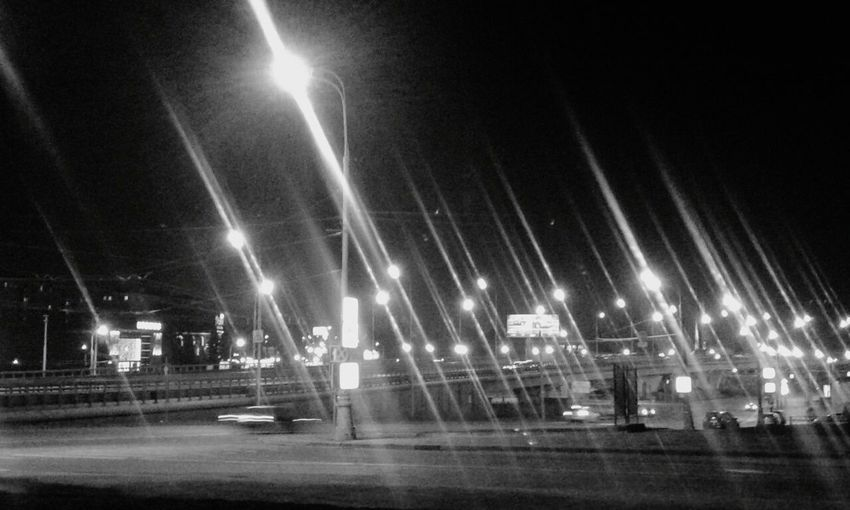 Blackandwhite Dze124 Lights Streetview