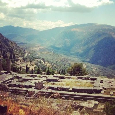 Delphi Greece Greek Summer hot Apollo gods mountains 2014 instagram igers photooftheday photochallenge like follow