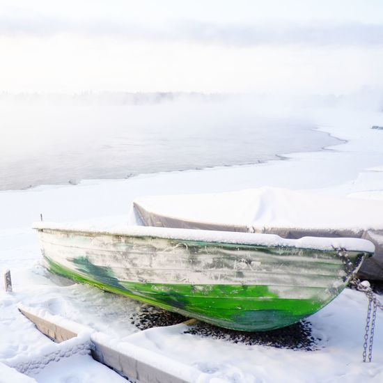 Winter Fujifilm_xseries Nofilter Snow Finland 65degreesnorth Frost River Frozen Boat Green