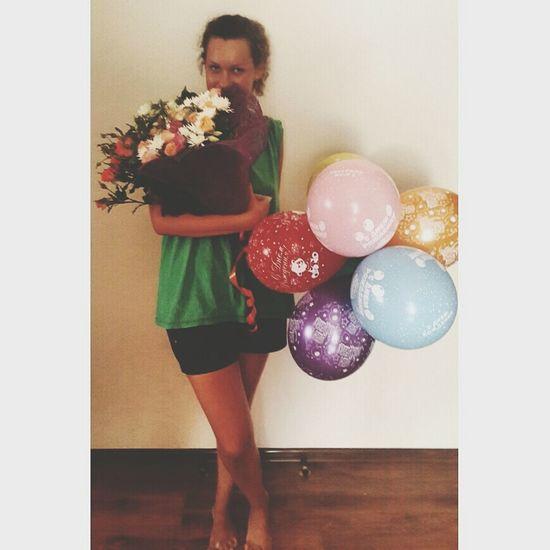 Happy Birthday! B-day Girl Happy That's Me