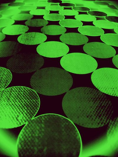 """Trying out the """"night vision"""" Green Color Pattern Backgrounds Close-up Night Vision"""