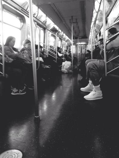 Wakey wakey Brooklyn Brooklyn Williamsburg J Train NYC Subway