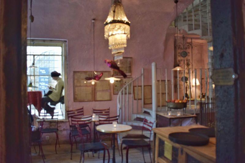 Bohem Cafe Camelot Decoration Indoors  Interior Interior Architecture Interior Design Window Woman