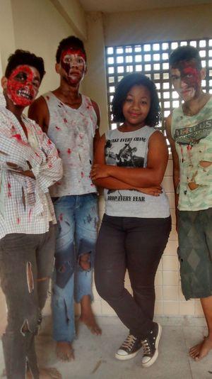 Monsters friends. Halloween 💀👻🔪🎃