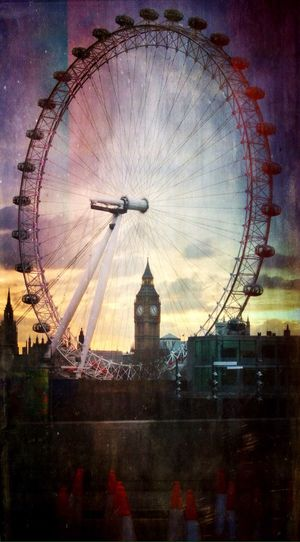 Watch The Clock 'The Wheel Of Time Never Stops Working' view of Big Ben through the London Eye. Mextures AMPt_community Streetphotography IPhoneography The Street Photographer - 2015 EyeEm Awards