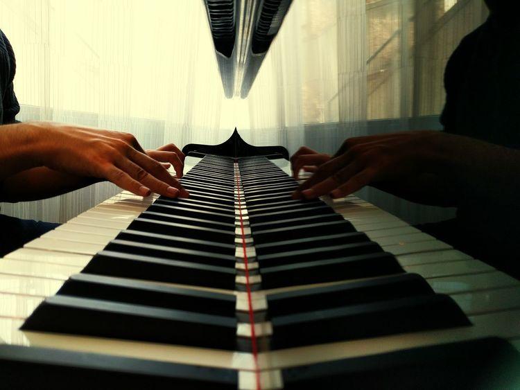 Piano Hands Piano Man Piano Piano Keys Piano Music Piano Lessons Pianoforte Piano Practice Reflections And Shadows Reflection