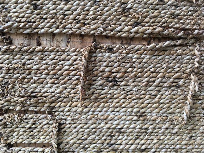 Full Frame Shot Of Twisted Ropes