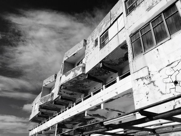 Building Exterior Architecture Built Structure Sky Low Angle View Outdoors No People Cloud - Sky Day City