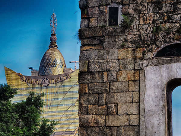 Built Structure Grand Lisboa Macau No People Religion Ruins Ruins Architecture Ruins Of St.Paul's The Past The Past And The Prese Travel Destinations