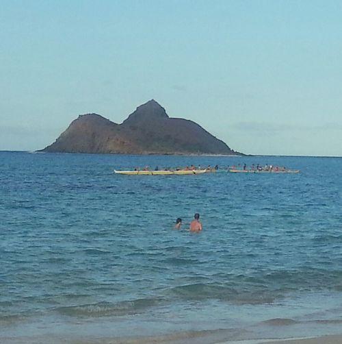 Aloha World Hello World On The Beach Laniki Beach